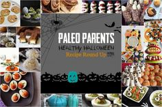 Healthy Halloween Recipe Round Up 2014 on PaleoParents