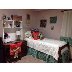 Auburn dorm room complete!