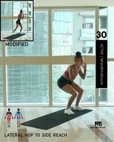 A full body HIIT workout — no equipment required Fitness Workouts, Fitness Workout For Women, At Home Workouts, Fitness Tips, Body Fitness, Cardio Workouts, Tabata, Hiit Workout Routine, Full Body Hiit Workout