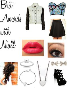"""Brit Awards With Niall."" by one-direction-date-outfits ❤ liked on Polyvore"