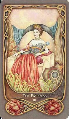 Belle Constantinne - The Empress - Fenestra Tarot