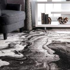 Living Room Carpet, Living Room Grey, Rugs In Living Room, Living Room Styles, Dark Grey Couches, Area Rugs For Sale, Grey Rugs, Room Rugs, My New Room