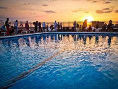Loophole: Get 50 friends together and the hotel will help you throw a poolside barbecue . Hotel Swimming Pool, Hotel Pool, Hotel Emperador Madrid, Dead Of Summer, Terrace Hotel, Madrid City, Web Design, Rooftop Pool, Historical Sites