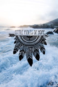 Hope, Ocean, Quote, Picture, Art