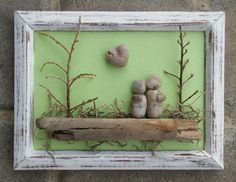 Pebble Art two by CrawfordBunch on Etsy