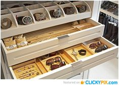 Storing jewelry is tricky. I want to be able to see what I have so I'm not always wearing the same pieces.