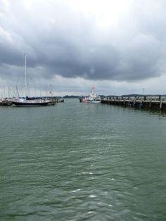 Wolken und Hafen, Maasholm - Foto: S. Hopp