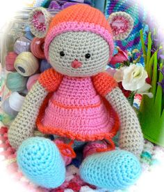 Amigurumi comes to Get Knitted by FuzzpotGirl, via Flickr