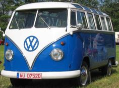 1960's VW combi -  dad toured the country in this!