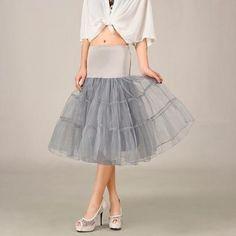 8ba42cc5245e 2016 Grey Summer Dress,New Short A Line Petticoat,Crinoline Underskirt,  Tutu Skirts, Wedding Dress Skirt ,A Line Skirts