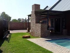 This home in mooivallei offers 3 bedrooms, 2 bathrooms, with an open plan lounge and kitchen, covered braai area with a pool and garden. This home is very modern and neat. Call today to make an appointment. Private Property, Property For Sale, 3 Bedroom House, Property Search, Open Plan, Bathrooms, Lounge, Patio, Places