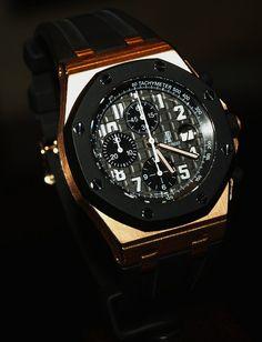 Black and gold watch, Audemars Piguet Swiss luxury watch New Hip Hop Beats Uploaded EVERY SINGLE DAY http://www.kidDyno.com