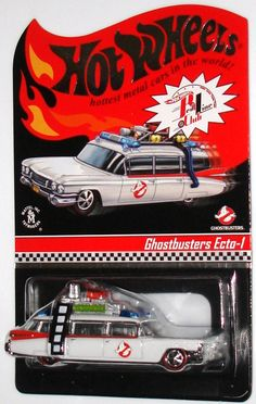 HOT WHEELS RED LINE GHOSTBUSTERS ECTO-1
