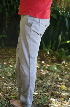 Jedediah Pants with pocket flaps in an organic cotton drill.  Very nice!