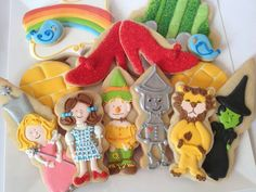 The Wizard of Oz (Decorated Cookies)