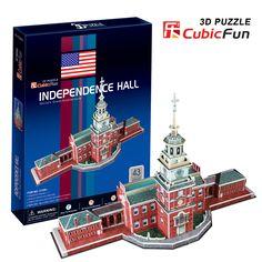 Mô hình giấy Quảng trường Độc lập ở Mỹ (43 mảnh) | Cubic Fun | Mô hình giấy 3D Cubic Fun | 123.vn