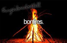 no bonfires this year. :[