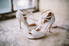 t-bar glitter peep toe wedding shoe charlotte mills