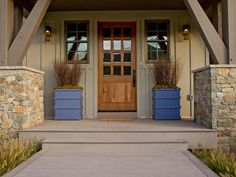 Exterior door that looks INCREDIBLY welcoming despite the plain ...