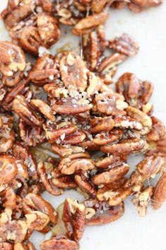 Base Recipe: Pecan Praline with Smoked Sea Salt. See the easy recipe on Bakebellissima.com!