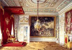 Гатчинский дворец. Тронная Павла I