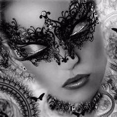 Lovely Mardi Gras Mask