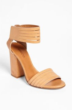 Vince 'Lara' High Sandal available at Nordstrom..... Actually mine are 9 West available at ....oh what is that store...anyway mine are cuter. :)