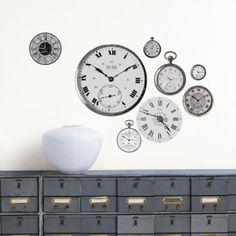 Clocks Wall Decal