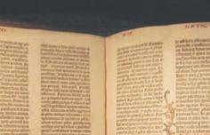 Bíblia de Gutenberg é avaliada em torno de US$300 milhões e doada a uma universidade, nos EUA