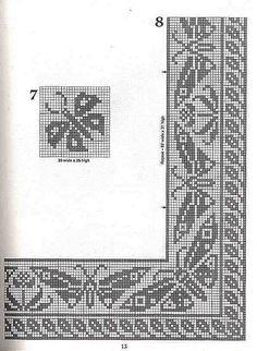 101 Filet Crochet Charts 13
