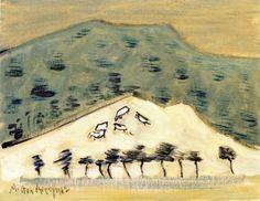 Vermont Hillside - Milton Avery - The Athenaeum