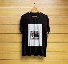 Straight Outta Carolina T-Shirt #straightshirt #straightt-shirt #outtashirt #outtaclothes #carolinashirt #carolinat-shirt #hiphop #straightouttashirt #straightoutta #carolinapanters #panthers #t-shirt #shirt #customt-shirt #customshirt #menst-shirt #menss