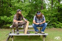 Brotherly Bonding. #DuckDynasty #DuckCommander