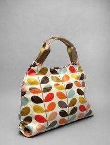 Orla Kiely bags - so cute...