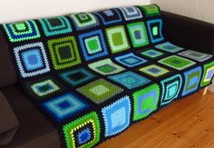 "Crochet Blanket Crochet Afghan 50""x60"" - pinned by pin4etsy.com"