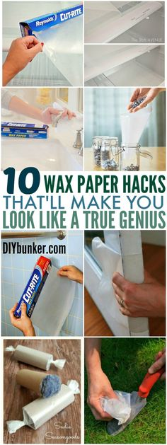 These 10 Wax Paper Hacks Will Blow All Your Friends Away! They are so useful and brilliant and I wish I had known about them sooner!