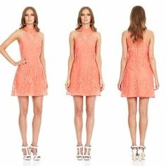 I just discovered this while shopping on Poshmark: Nookie Sweetest Taboo Dress in Coral. Check it out!  Size: XS