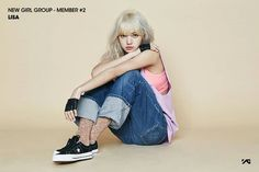 #Lisa #BlackPink #YGNewGirlGroup