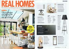 The English Interior Magazine Real Homes talked about the lamp TRI.BE.CA by Mogg / Design by Marzia & Leonardo Dainelli. Thanks to Go Modern /  http://www.mogg.it/Prodotti/Accessories/TRI-BE-CA/  #mogg #moggdesing #Tribeca #dainellistudio #lamp #interiordesign #interior #design #italianfurniture #italian #furniture #uk #magazine #GoModern