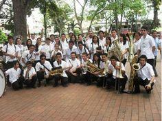 Banda participante por fusa, en festival de Bandas Sinfónicas