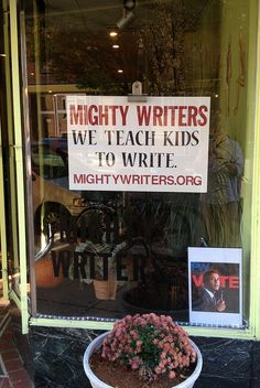 What a fantastic resource for Philadelphia students - Mighty Writers Writing Classes, Essay Writing, Sat Prep, College Essay, High School Students, After School, Art Education, Teaching Kids, Writers