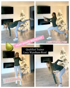 Easy Workouts, At Home Workouts, Fitness Tips, Health Fitness, Yoga Tips, I Work Out, Glutes, Workout Videos, How To Plan