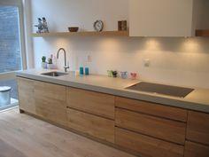48 The Best Interior Design of a Wooden Kitchen - Wood Parquet Best Interior Design, Interior Design Kitchen, Interior Design Inspiration, Kitchen Colors, Kitchen Decor, Kitchen Rustic, Casa Hipster, Kitchen Colour Combination, Concrete Countertops