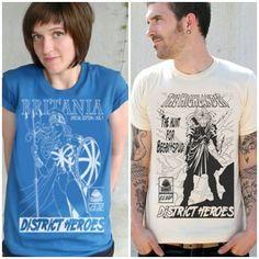 Tee shirt Design Blog: District Roots   Cottonable