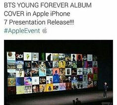 Yes it is! #BTS #Apple #YoungForever