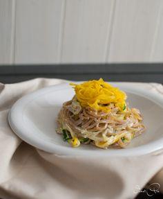 Zucchini Mandel Pasta - SweetPie