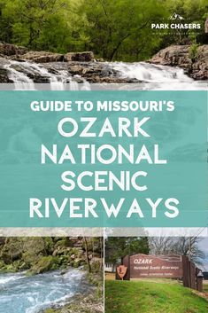 All about visiting Ozark National Scenic Riverways in Missouri, the first national park to protect and preserve a river for future generations Ozark National Park, National Park Passport, National Park Lodges, National Parks, Ways To Travel, Travel Ideas, Travel Tips, Travel Destinations, Hiking In Florida