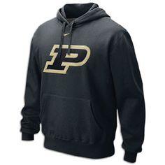 Nike College Big Logo Fleece Hoodie - Men's
