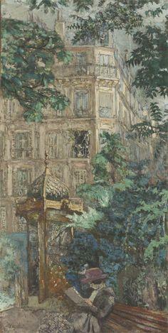 Le Kiosque (Place Vintimille), Édouard Vuillard