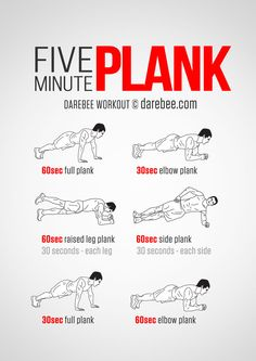 Five Minute Plank Workout